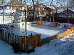 Backyard Rink Liner by Backyard Hockey Rink Design And Ideas Of House