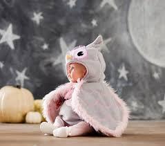 Snowy Owl Halloween Costume Baby Owl Costume Pottery Barn Kids