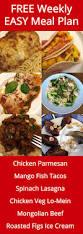 Free Dinner Ideas Free Weekly Meal Plan U2013 Week 29 Easy Recipes U0026 Dinner Ideas
