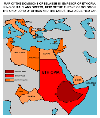 Map Of Ethiopia Ethiopian Empire By Leoninia On Deviantart