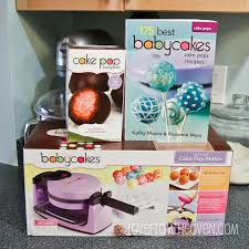 baby cakes maker babycakes flip cake pop maker review from the oven