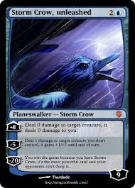 Storm Crow Meme - storm crow unleashed by sylux mtg cardsmith