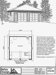 Size Of 2 Car Garage by Garage Plans Blog Behm Design Garage Plan Examples Plan 576