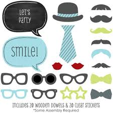 little man birthday invitations amazon com dashing little man mustache party photo booth props