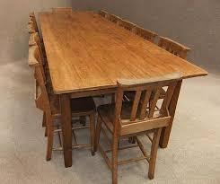 10 ft farmhouse table reclaimed pine french farmhouse table peppermill interiors