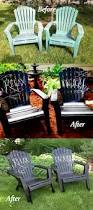 Refinish Iron Patio Furniture by 25 Unique Patio Furniture Makeover Ideas On Pinterest Backyard