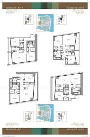 Icon Floor Plan by Icon Brickell Tower 3 Viceroy Tower Floor Plans