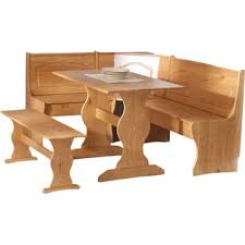 corner kitchen table nook sets wayfair