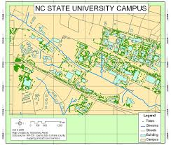 nc state cus map maps usa map images
