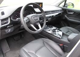 audi suv q7 interior audi q7 3 0t quattro savage on wheels