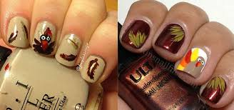 creative thanksgiving nail deigns ideas 2013 2014