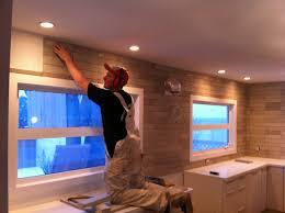 kitchen with no upper cabinets kitchen decoration