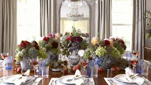 traditional thanksgiving table setting southern living