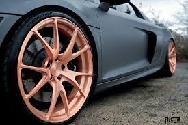 Audi R8 Gold - audi r8 stüttgart gallery mht wheels inc