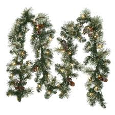 Christmas Decorations Home Depot by Martha Stewart Living Christmas Wreaths U0026 Garland Christmas