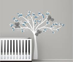 Wall Decor Stickers For Nursery Free Shipping Oversized Large Koala Tree Wall Decals For Baby