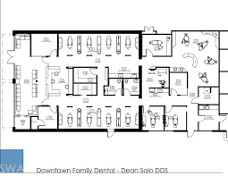 Dental Office Floor Plans by Downtown Family Dental Saunders Wiant Oc