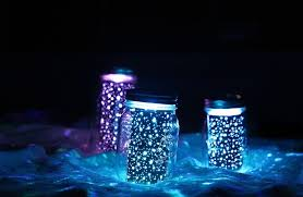 Glow In The Dark Lights Diy Glowing Mason Jars How To Make A Decorative Light Home