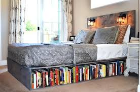 Full Size Bed With Bookcase Headboard Bookcase Queen Bed Frame Bookcase Wolf Creek Bookcase Storage
