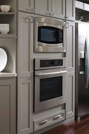 Double Wall Oven Cabinet Wall Built In Microwave Cabinet Homecrest