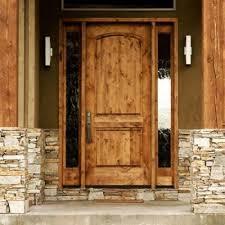 2 Panel Interior Doors Home Depot Krosswood Doors 36 In X 80 In Rustic Knotty Alder 2 Panel Top