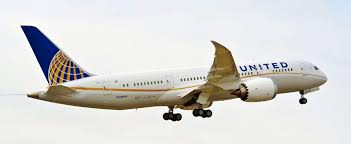first international flights for united airlines boeing 787 begin today