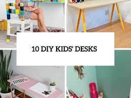 furniture 72 easy to make diy desk diy kids desks for art craft