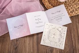 wedding invitation pockets wishmade cheap invitation cards with birdcage design wedding cards