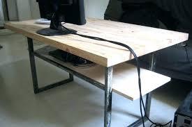 plateau bois pour bureau plateau bois pour bureau planche pour bureau awesome ce dcalage a