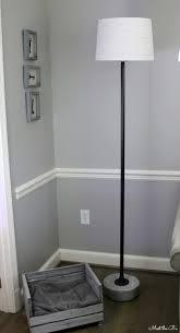 Bathroom Floor Lighting by Monthly Diy Challenge Industrial Pipe Floor Lamp The Inspired Hive