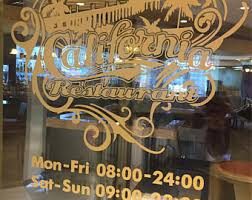 stickers for glass doors decals lettering for your business storefront vehicle store name