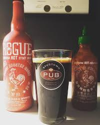 sriracha bottle cap review rogue sriracha stout junk banter