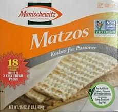 kosher for passover baby food manischewitz matzos crackers kosher for passover 18