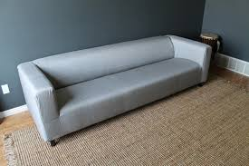 Grey Slipcover Sofa by The Slipcover Blues Chris Loves Julia