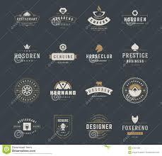 design a vintage logo free vintage logos design templates set vector design elements logo