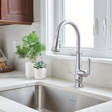 kitchen faucet images delancy pull kitchen faucet standard