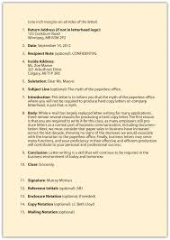 Format Of Business Email by 100 Format Of Company Letter Letter Formats Sample Job Offer