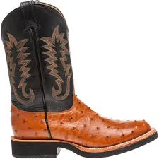 justin s exotics quill ostrich western boots academy