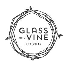 martini glass logo glass u0026 vine
