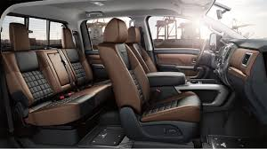 nissan quest 2016 interior take the powerhouse 2017 nissan titan xd for a test drive