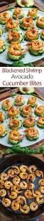 blackened shrimp avocado cucumber bites recipe blackened