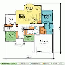 single floor home plans 1 story open floor home plans 1800 floor plans single story open