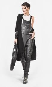 leather jumpsuit a leather jumpsuit