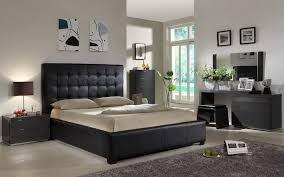 bold black dresser with mirrors for a dramatic bedroom abpho