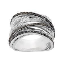 engagement rings kohl s black rings kohl s