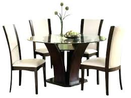 shaker espresso 6 piece dining table set with bench espresso round dining table set outstanding round pedestal dining