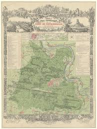 The Forest Map Forest Of Fontainebleau Wikipedia
