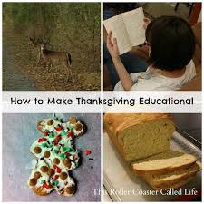 how to make thanksgiving educational this roller coaster called