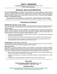 Example Of Profile For Resume by Examples Of Resumes 8 Sample Curriculum Vitae For Job