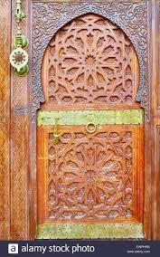 ornamental door morocco africa stock photo royalty free image
